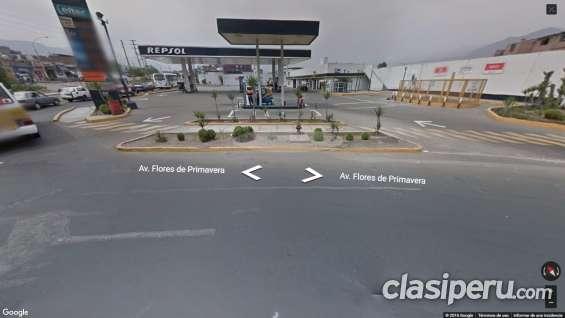 Vendo45%acciones negocios en 9350m en medio 3avdas proximo centro de limaperú