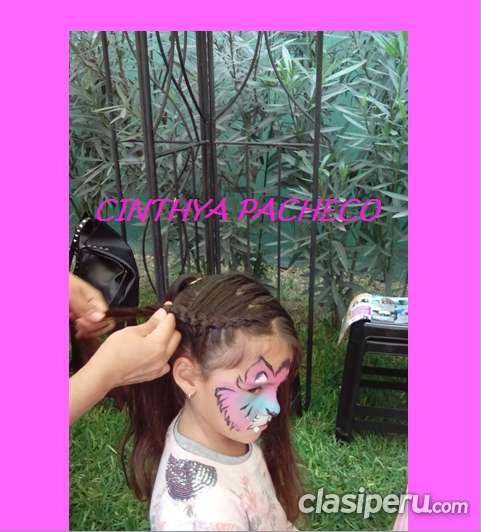 Manualidades creativas y caritas pintadas de cinthya