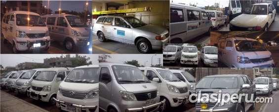 Alquilo minivan desde s/. 60 por día.