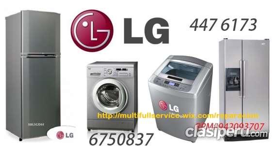 Servicio tecnico lg lavadoras 4476173 a domicilio