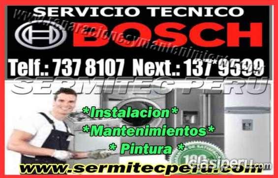 Miraflores - servicios tecnicos de lavadoras bosh(7378107)