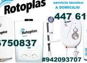 Servicio tecnico terma rotoplas 4476173 a domicilio