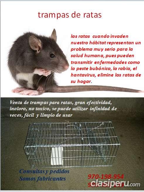 Trampas para ratas tomahawky gatos y perros
