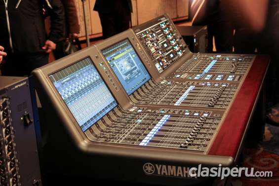 Nuevo digitales mixers y equipos de audio behringer yamaha soundcraft y otros