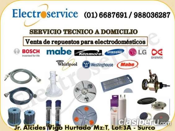 Servicio técnico reparación de lavadoras *daewoo* 6687691 // 988036287