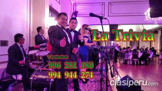 Orquestas de peru orquesta *la trivia.. matrimonios fiestas tf 01 4505319