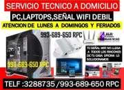 Tecnico de internet wifi,computadoras,laptops,a domicilio