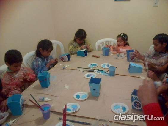Talleres de arte poara fiestas infantiles