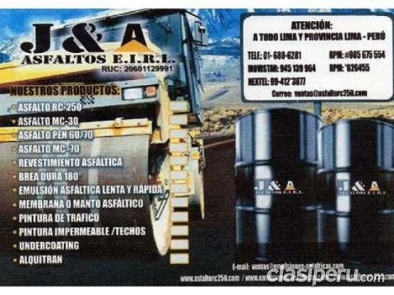 Venta de emulsion asfaltica reforzada/super rentable a buen precio