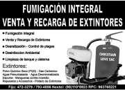 VENTAS Y RECARGAS DE EXTINTORES LLAMA YA 944783463