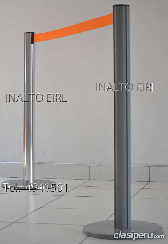 Ordenador de cola con cinta retractil modelo universal