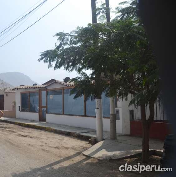 Venta de casas en lima 3 rec sin muebles en chaclacayo