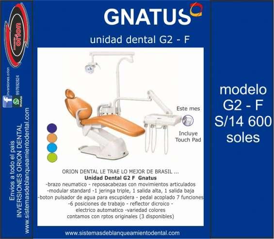 G2 f gnatus sillon equipo dental
