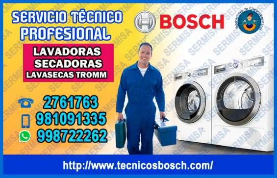 Linea blanca bosch 2761763 servicio técnico lavadoras – san miguel