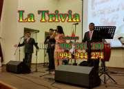 Orquesta La Trivia en Lima ORQUESTA LA TRIVIA MÚSICA VARIADA EN VIVO