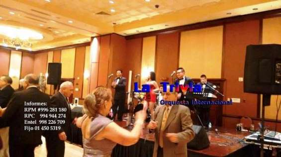 """orquesta"" orquesta orquesta bailable música variada orquesta para matrimonios fiestas"