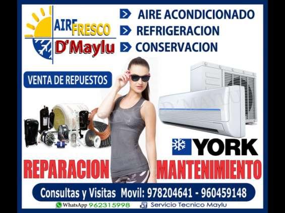 Reparación e mantenimiento de aire acondicionado, en surco - 960459148