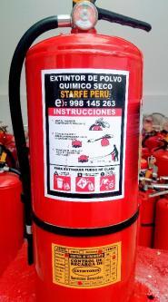 Venta, recarga , alquiler de extintores 5501290 // 998145263