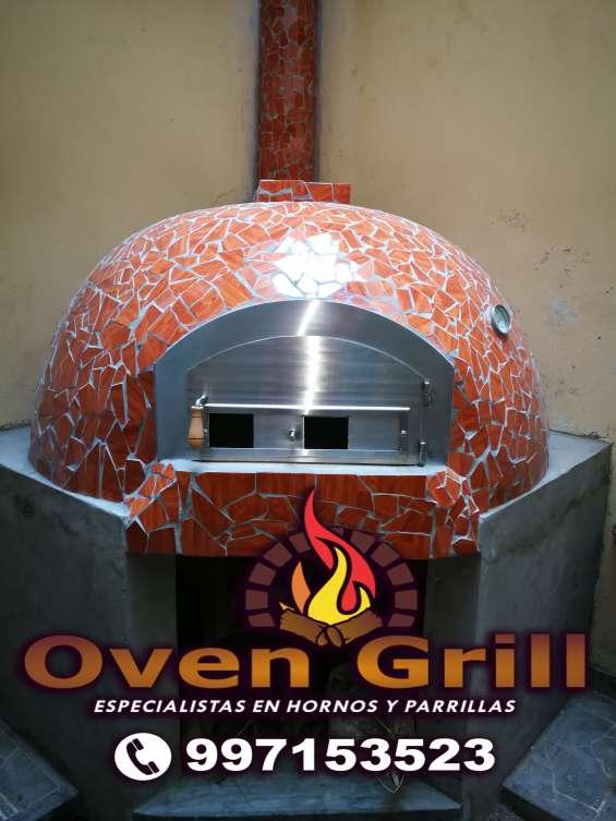 Construccion de hornos de barro lima perú