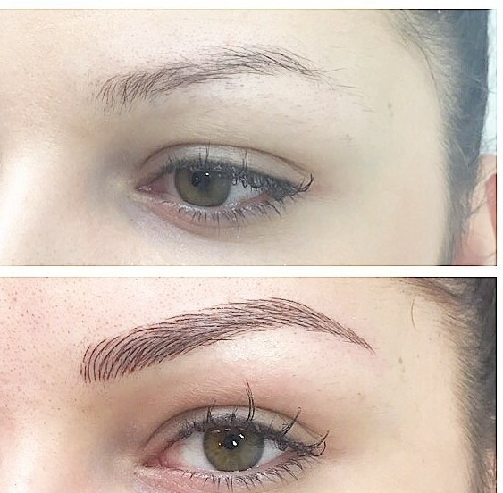 Microblanding hermosas cejas nueva tecnica pelo a pelo
