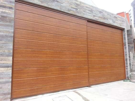 Puertas de garajes levadizas servicios reparaciones