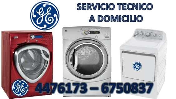 Servicio tecnico lavadora secadora general electric