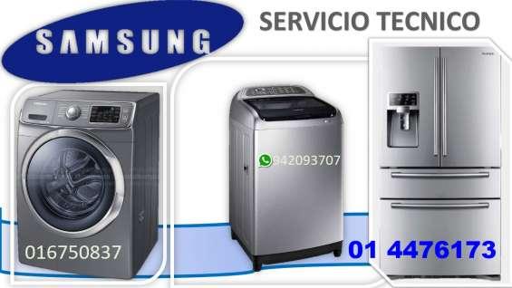 Servicio tecnico lavadora secadora samsung
