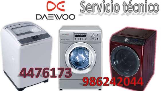 Servicio tecnico lavadora secadoras daewoo 4476173
