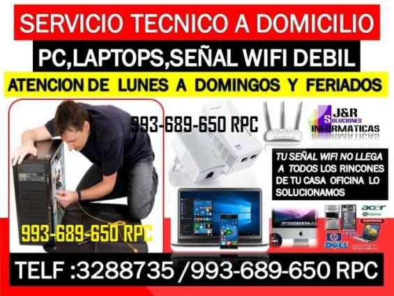 Soporte tecnico a pc,internet wifi,laptops,cabinas internet,a domicilio