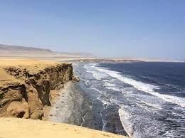 Venta terreno playa paracas 74,500 hectareas ubicación: dpto de ica, frente hoteles