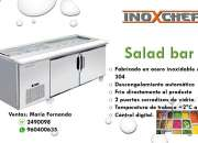 SALAD BAR 2 PUERTAS INOXCHEF LIMA PERU