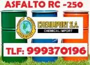 Al por mayor y menor, venta de Asfalto en Frio (Mezcla asfaltica preparada),Cel. 999370196