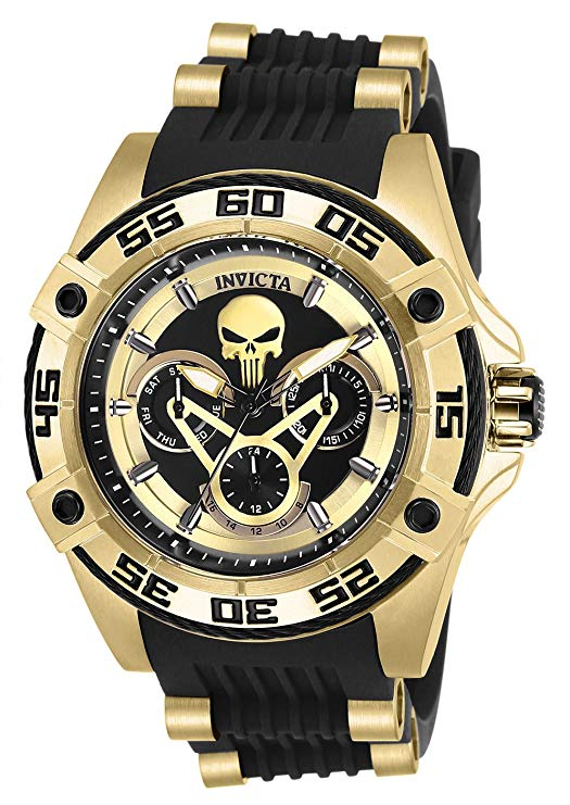 Reloj invicta marvel punisher speedway viper edicion ltda