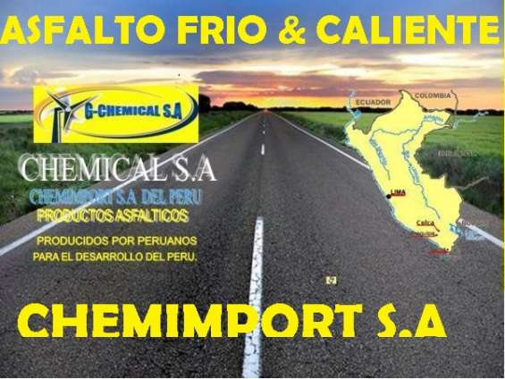 Gran venta de emulsion asfaltica rotura lenta/intermedia.