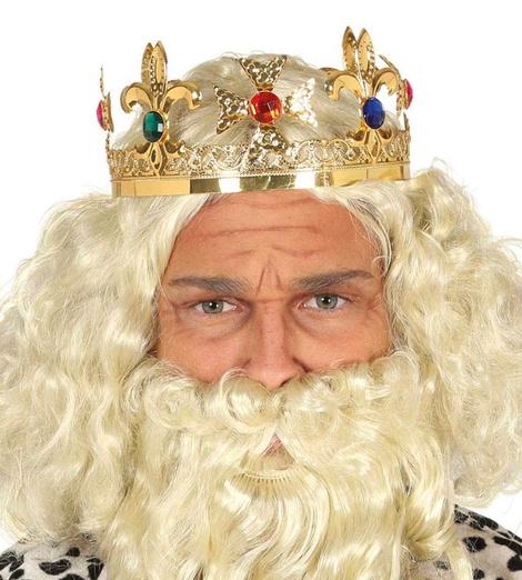 Barbas y pelucas de rey mago cel : 999023200