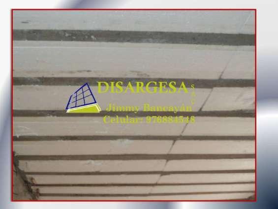 Ladrillos de tecnopor para techo - 976884548