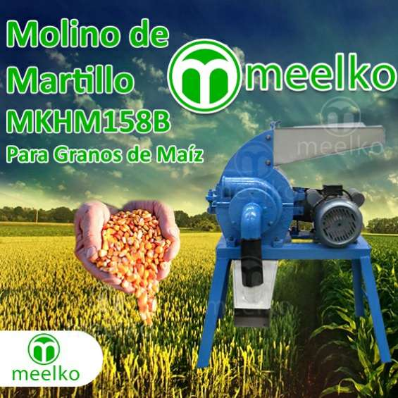 Molino de martillos mkhm158b meelko