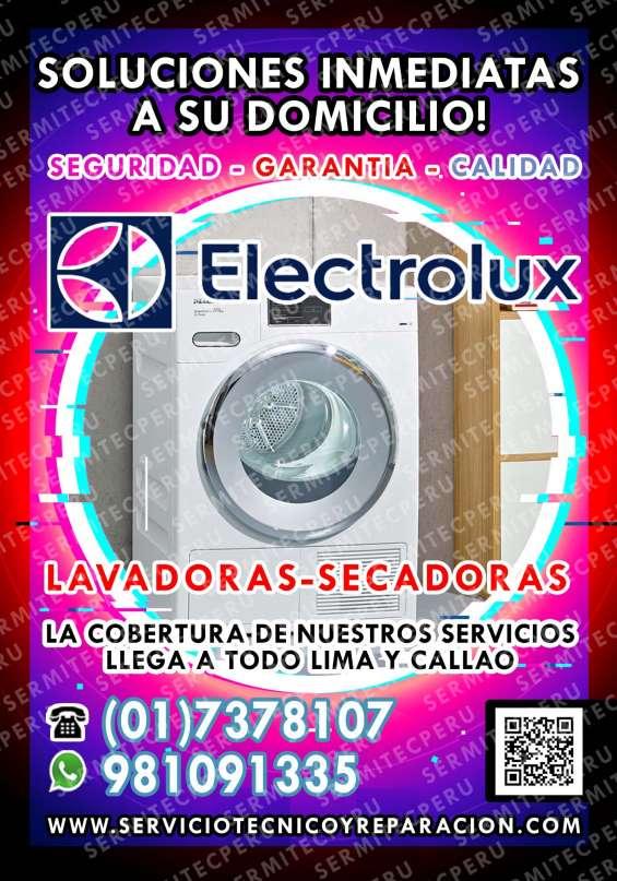Autorizados electrolux| profesionales de lavadoras en callao
