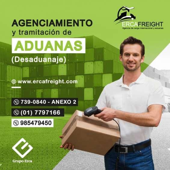 Agenciamiento de carga y aduanas
