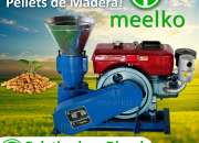 Peletizadora MKFD200A Diesel MEELKO