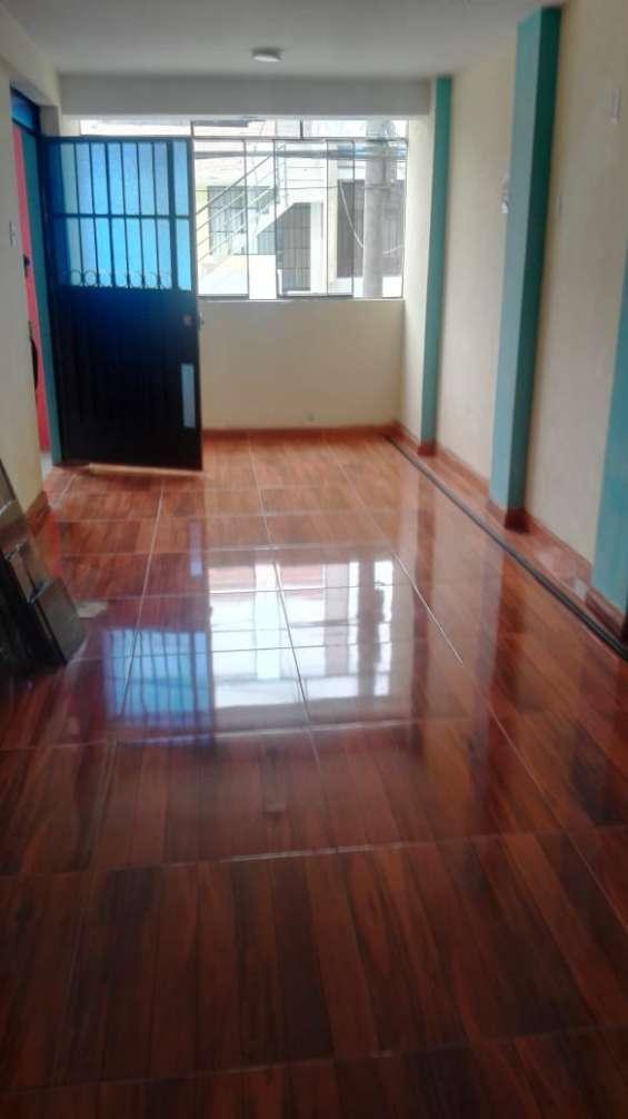 Alquila 2 piso jr. citrinos urbanizacion. inca manco capac - sjl