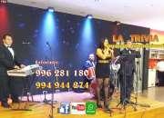 Orquesta en vivo MUSICA VARIADA ORQUESTA PARA MATRIMONIOS FIESTA EVENTO LA TRIVIA Orquesta