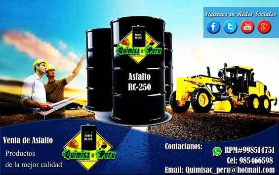 Venta de emulsion asfaltica css-1h
