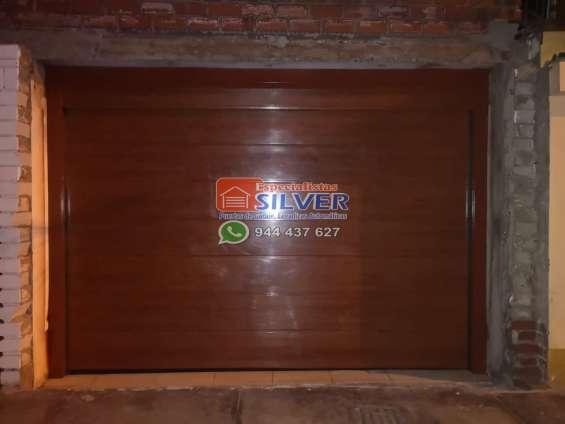 Especialista silver puertas levadizas