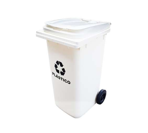 Contenedor de 360 litros ecológico con ruedas