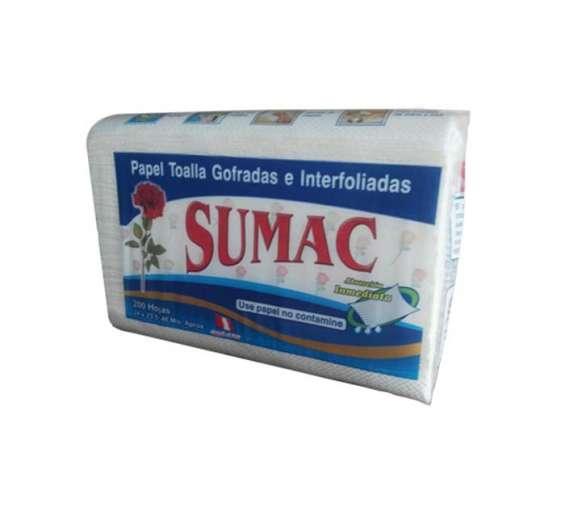 Papel toalla interfoliado blanco sumac