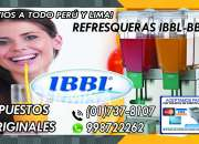 IBBL REFRESQUERAS Y REPUESTOS
