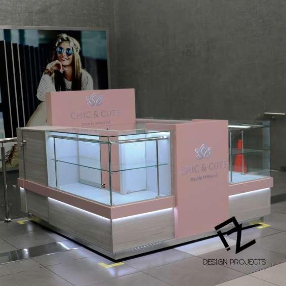 Muebles de venta para centros comerciales - pz design projects