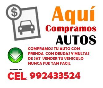 Compramos tu auto carro vehiculo al mejor precio